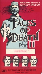 Faces Of Death 2 - VHS cover (xs thumbnail)