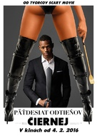 Fifty Shades of Black - Slovak Movie Poster (xs thumbnail)