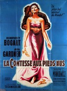 The Barefoot Contessa - French Movie Poster (xs thumbnail)