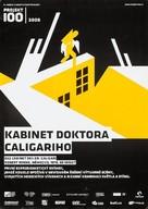 Das Cabinet des Dr. Caligari. - Czech Re-release movie poster (xs thumbnail)