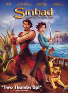 Sinbad: Legend of the Seven Seas - DVD cover (xs thumbnail)