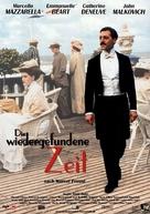 Temps retrouvé, d'après l'oeuvre de Marcel Proust, Le - German Movie Poster (xs thumbnail)