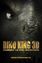 Dino King 3D: Journey to Fire Mountain - Movie Poster (xs thumbnail)