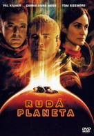 Red Planet - Czech DVD cover (xs thumbnail)