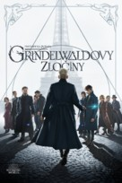 Fantastic Beasts: The Crimes of Grindelwald - Czech Movie Cover (xs thumbnail)