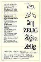 Zelig - Movie Poster (xs thumbnail)