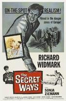 The Secret Ways - Movie Poster (xs thumbnail)