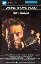 The Enforcer - Finnish VHS movie cover (xs thumbnail)