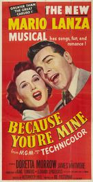 Because You're Mine - Movie Poster (xs thumbnail)