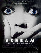 Scream - Spanish Movie Poster (xs thumbnail)