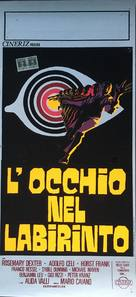L'occhio nel labirinto - Italian Movie Poster (xs thumbnail)