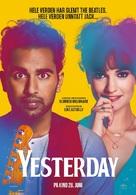 Yesterday - Norwegian Movie Poster (xs thumbnail)