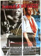 Land and Freedom - Swedish Movie Poster (xs thumbnail)