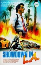L.A. Takedown - German VHS movie cover (xs thumbnail)