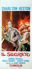 Secret of the Incas - Italian Movie Poster (xs thumbnail)