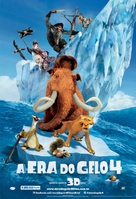 Ice Age: Continental Drift - Brazilian Movie Poster (xs thumbnail)