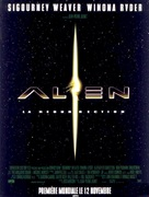 Alien: Resurrection - French Movie Poster (xs thumbnail)