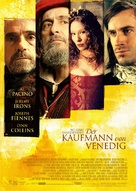 The Merchant of Venice - German Movie Poster (xs thumbnail)