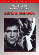 Lethal Weapon - DVD cover (xs thumbnail)