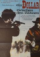 Un dollaro tra i denti - German Movie Poster (xs thumbnail)