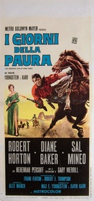 The Dangerous Days of Kiowa Jones - Italian Movie Poster (xs thumbnail)
