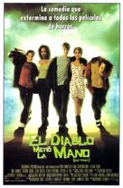 Idle Hands - Spanish Movie Poster (xs thumbnail)