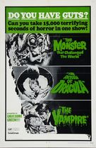 The Monster That Challenged the World - Combo poster (xs thumbnail)