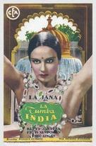 Indische Grabmal, Das - Spanish Movie Poster (xs thumbnail)