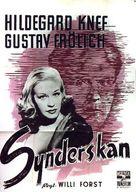 Sünderin, Die - Swedish Movie Poster (xs thumbnail)