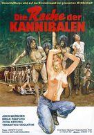 Cannibal ferox - German Movie Poster (xs thumbnail)