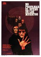 Non si deve profanare il sonno dei morti - Spanish Movie Poster (xs thumbnail)