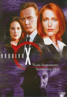 """The X Files"" - Brazilian DVD movie cover (xs thumbnail)"