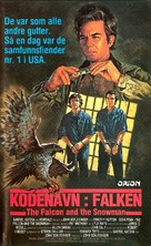 The Falcon and the Snowman - Norwegian VHS cover (xs thumbnail)