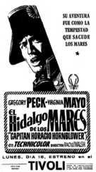 Captain Horatio Hornblower R.N. - Spanish poster (xs thumbnail)
