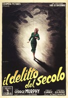 Walk East on Beacon! - Italian Movie Poster (xs thumbnail)