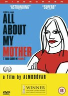 Todo sobre mi madre - British DVD movie cover (xs thumbnail)
