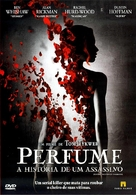 Perfume: The Story of a Murderer - Brazilian DVD cover (xs thumbnail)