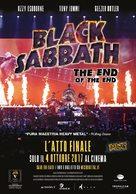 Black Sabbath the End of the End - Italian Movie Poster (xs thumbnail)