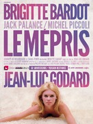 Le mépris - French Movie Poster (xs thumbnail)