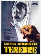Tenebre - Spanish Movie Poster (xs thumbnail)