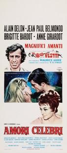 Amours célèbres - Italian Movie Poster (xs thumbnail)
