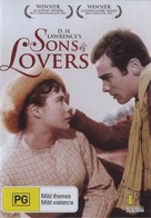 Sons and Lovers - Australian Movie Cover (xs thumbnail)