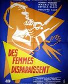Des femmes disparaissent - French Movie Poster (xs thumbnail)