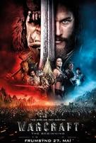 Warcraft - Icelandic Movie Poster (xs thumbnail)