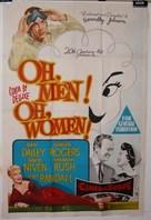 Oh, Men! Oh, Women! - Australian Movie Poster (xs thumbnail)