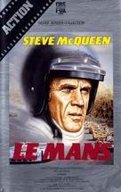 Le Mans - British Movie Cover (xs thumbnail)
