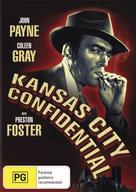 Kansas City Confidential - Australian DVD movie cover (xs thumbnail)