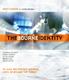 The Bourne Identity - Blu-Ray cover (xs thumbnail)
