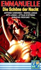 Emmanuelle bianca e nera - German VHS cover (xs thumbnail)