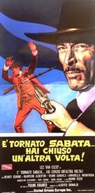 È tornato Sabata... hai chiuso un'altra volta - Italian Movie Poster (xs thumbnail)